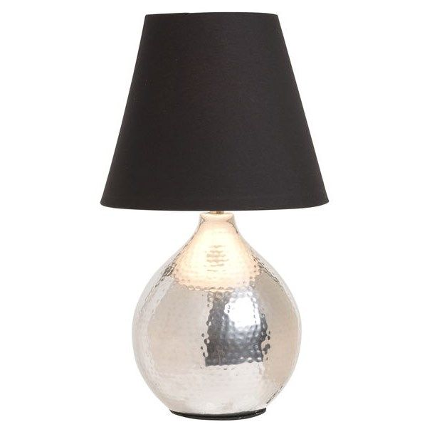 Bordslampa Ankara Silver Bordslampor Rusta Bordslampa Bordslampor Lampbord