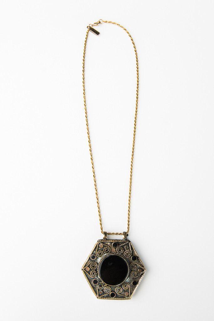 Alabama Onyx Necklace