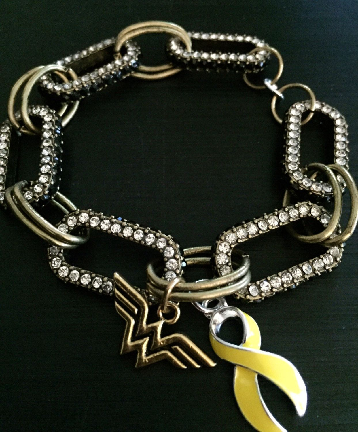 stainless bone bladder awareness endometriosis fighter bracelet survivor liver steel ribbon childhood item bangle cancer