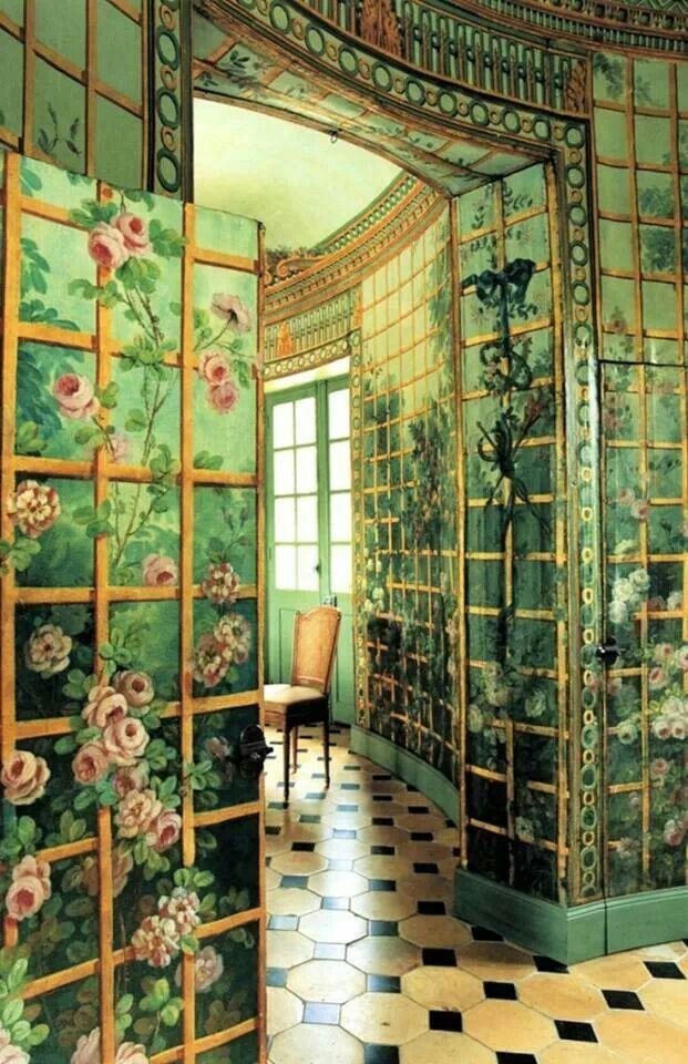 Beautiful Green Room! murals Pinterest Paredes pintadas, Verde
