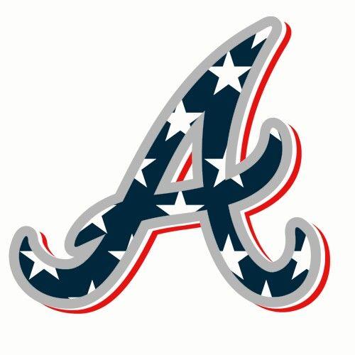Braves Stars And Stripes Atlanta Braves Logo Atlanta Braves Baseball Atlanta Braves Wallpaper