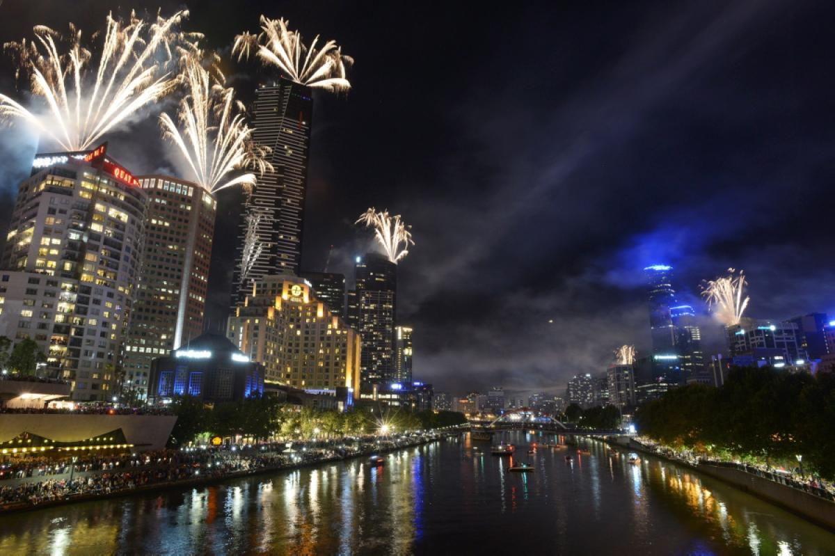 Melbourne, Australia Photos Happy New Year! World
