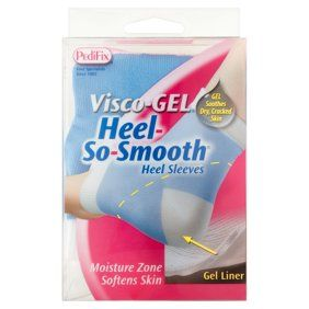 Soft Silicone Gel Repair Cracked Heel Protective Cushion Foot Sleeve