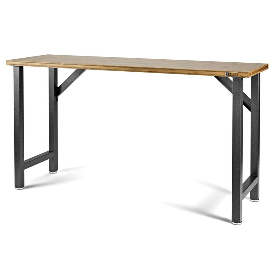 Swell Shop Gladiator 6 Ft 6 In Bamboo Workbench At Lowes Com Uwap Interior Chair Design Uwaporg