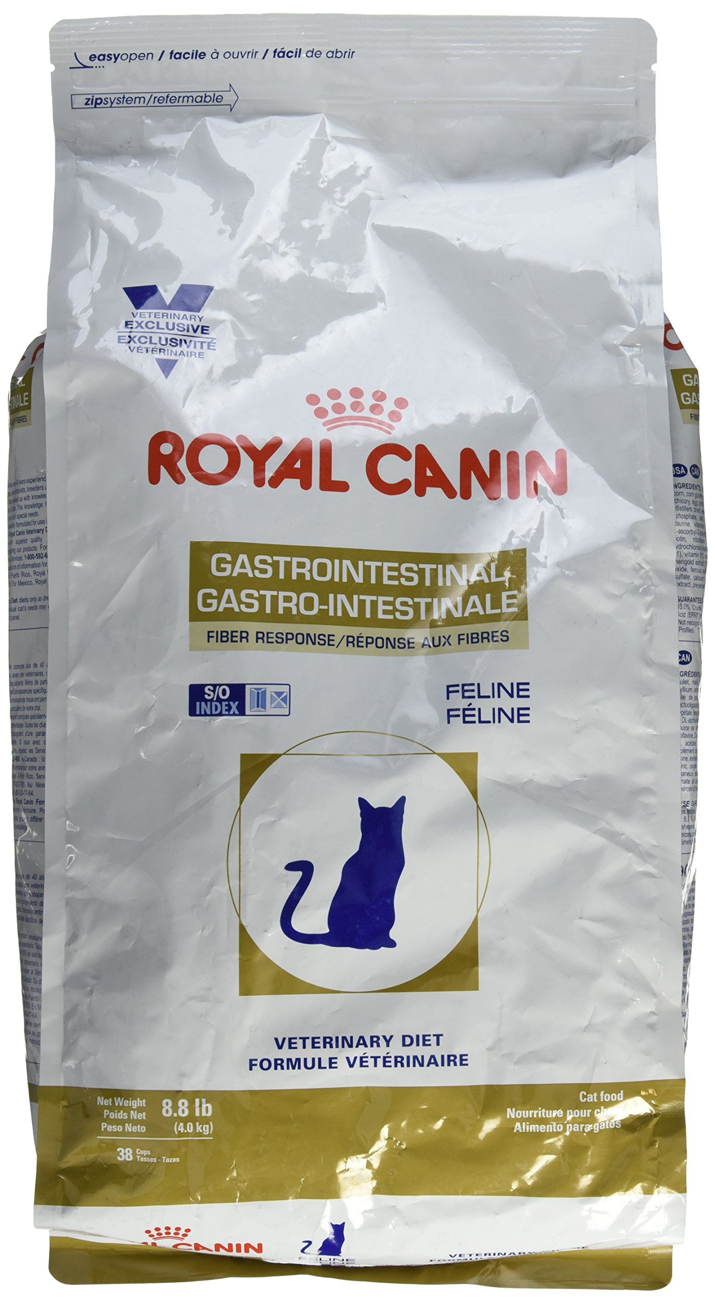 Royal Canin Veterinary Diet Gastrointestinal Fiber Response Dry Cat Food 8 8 Lb Check Out This Great Produc In 2020 Cat Food Brands Dry Cat Food High Fiber Cat Food