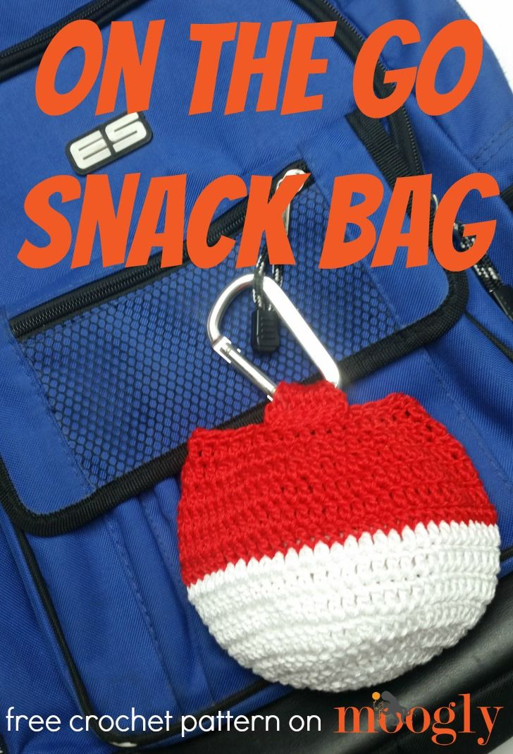 On The Go Snack Bag Meladoras Creations Community Board Free