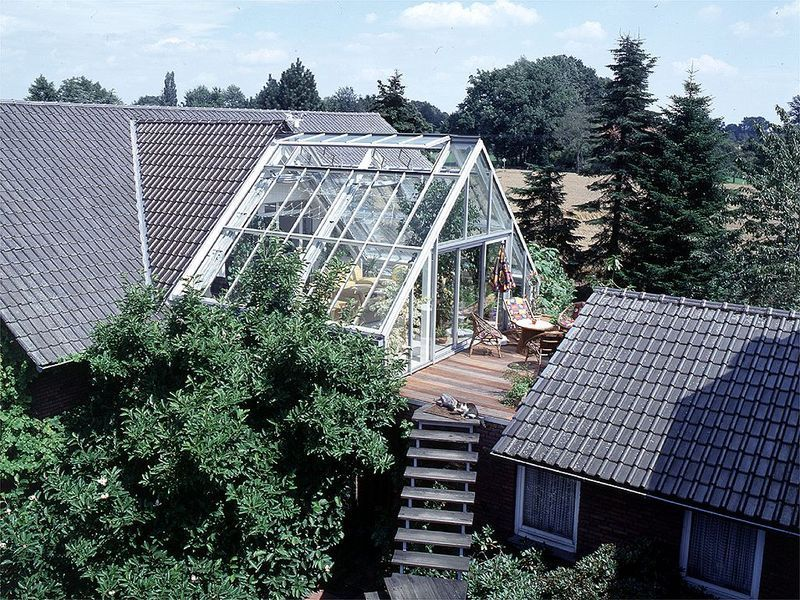 Wintergarten Auf Dem Dach siedenburger stahl glasbau wintergärten ideen zu