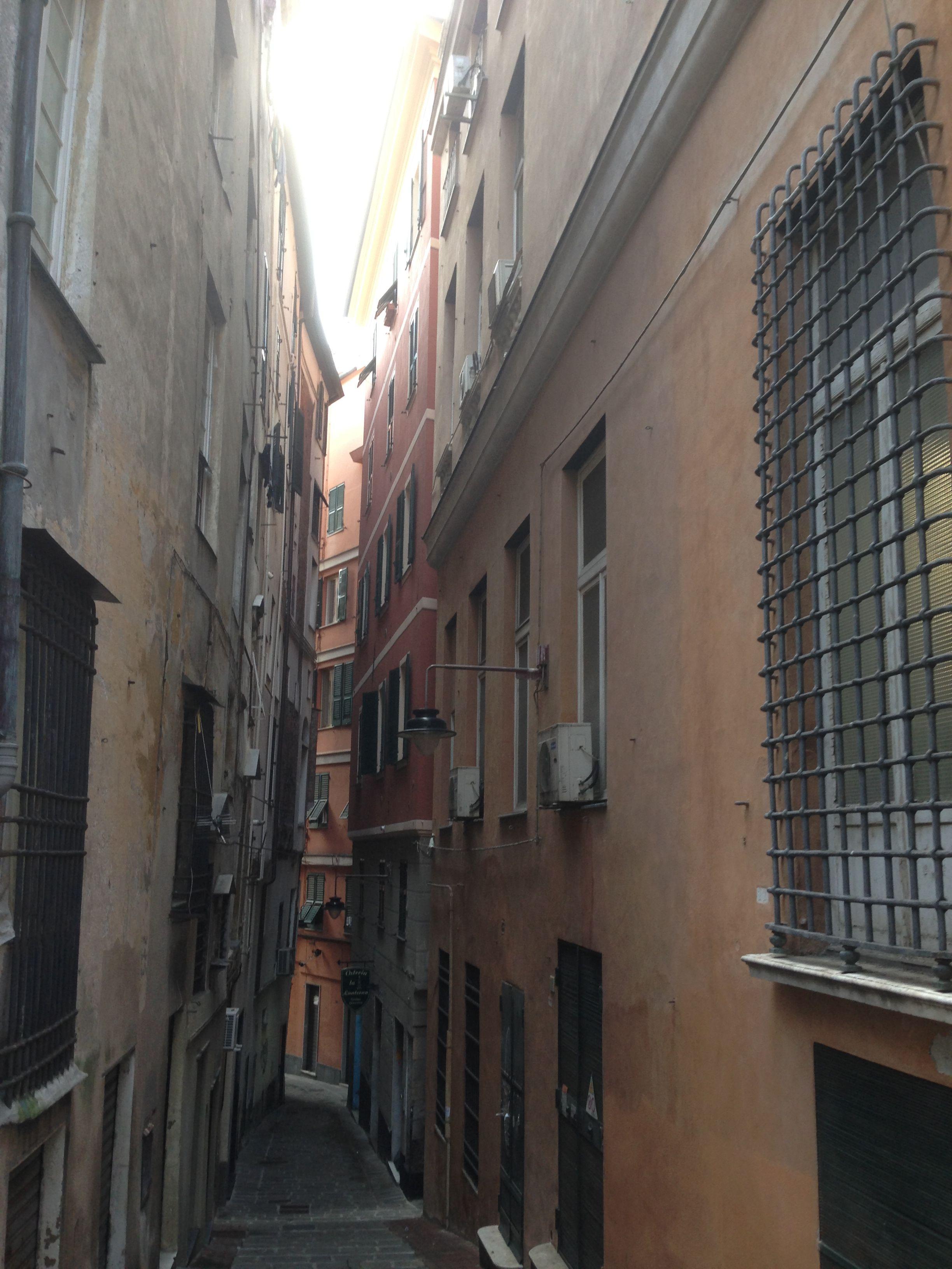 Gênes, en Italie, une des plus belle ville que j'ai jamais visitée