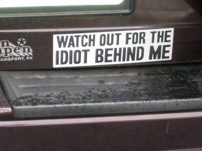 Not your average bumper stickers