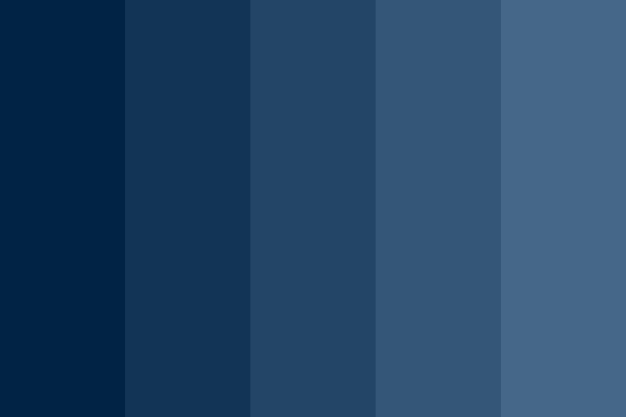 Deep Blue Sea Color Palette Blue Paint Swatches Blue Color Pallet Blue Colour Palette