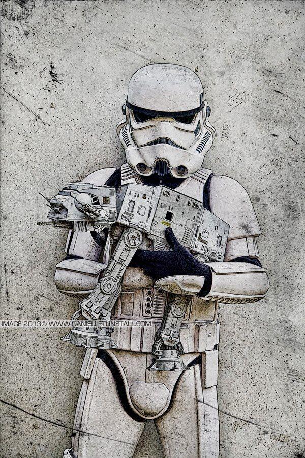 Stormtrooper Art in 2019 | Star wars fan art, Star wars ...