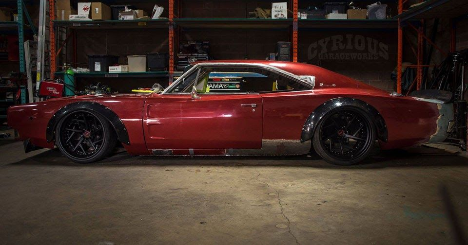Canadian Tuner Working On Ballistic Widebody \'68 Dodge Charger ...