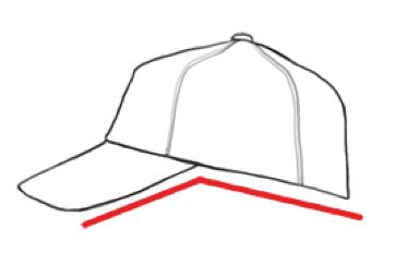 構造から考えて攻略 帽子ベースボール型キャップの描き方 Hats