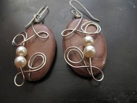 Naomi's Designs: Handmade Wire Jewelry: My Fire Mountain Gems And Beads Jewelry-Making Contest Pieces