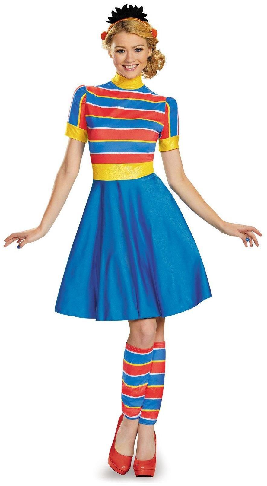 PartyBell.com - #Sesame Street Adult Ernie Ladies #Costume