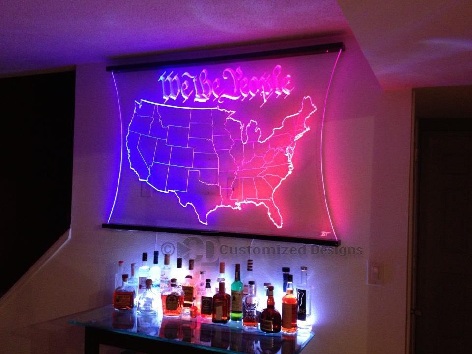 LED Lighted Decor   Wall Art   Lighted Skylines U0026 More!