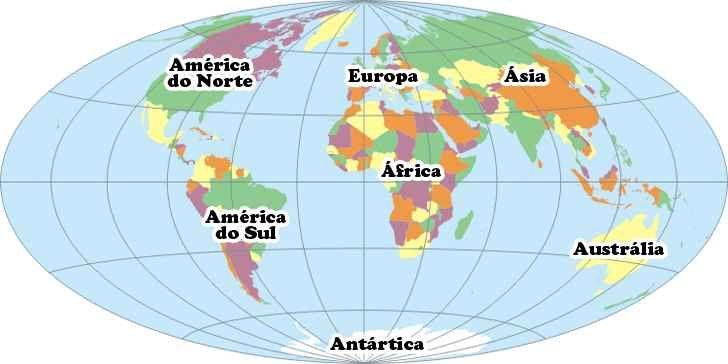 Mapa Múndi Mapa Do Mundo Continentes E Países Roteiros E Dicas De Viagem Geografia Para Crianças Mapa Mundi Mapa De Viagem