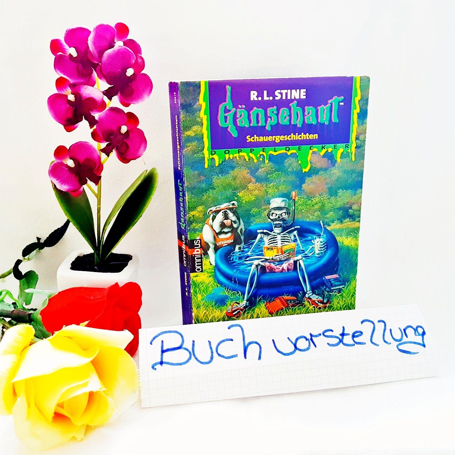Gänsehaut Schauergeschichten Doppeldecker vom R.L.Stine