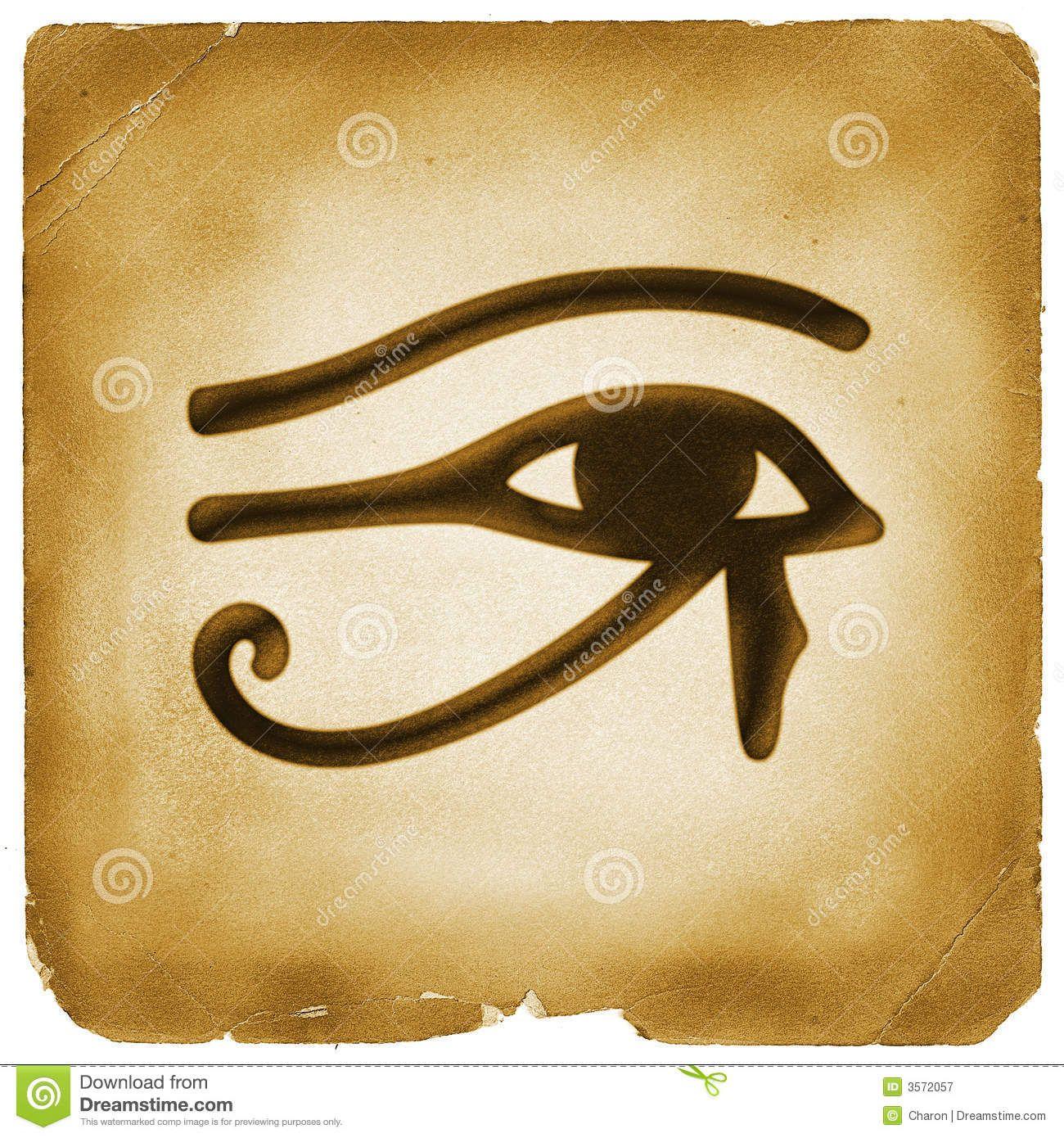 Eye horus symbol old paper 3572057g 13001390 tattoos egyptian eye of horus biocorpaavc Images