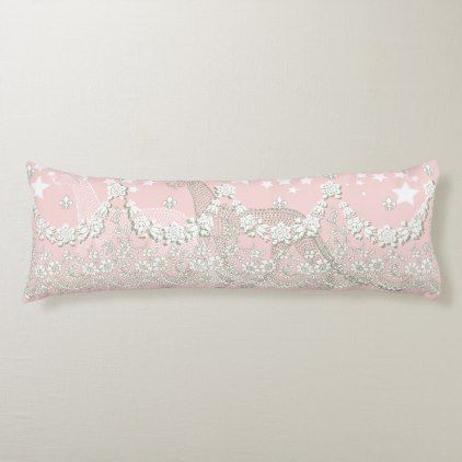 Pastel Garden Leopard Body Pillow | Zazzle.com