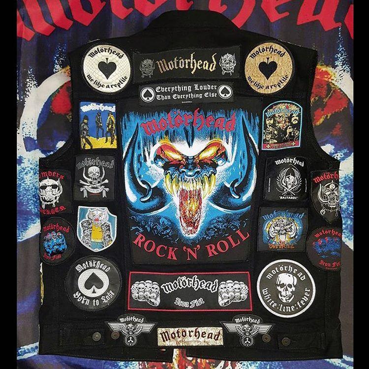 Patchmaster from USA #battlejacket #metalpatches #metaljacket #kutte #bandpatch #bandpatches #battlevest  #heavymetal #thrashmetal  #denimjacket #patchedvest #deathmetal  #metalpatches  #metal #wovenpatch #metalmaniacs #metalmaniac #metalvest #metalkutte #lemmy #lemmykilmister #motorhead #aceofspades #lemmyisgod #motorheadbangers #motorheadforlife #ironfist #rocknroll