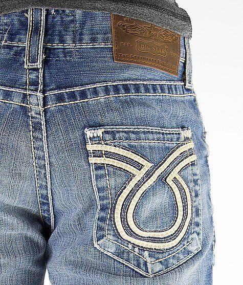 9e002726f4b New Big Star Distressed 18 Year Stateline Vintage Pioneer Boot Cut Denim  Jeans #BigStar #BootCut