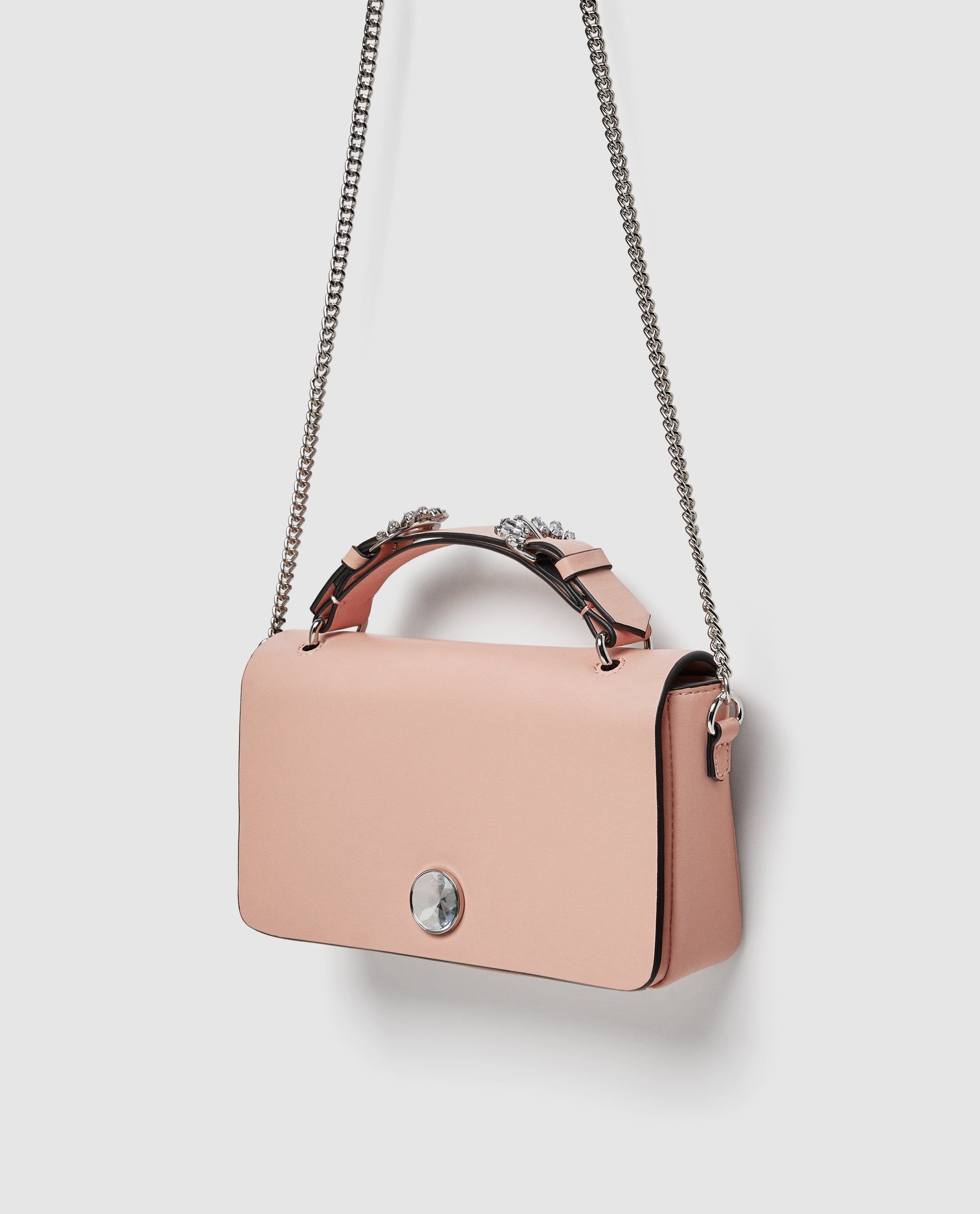 b92870d6629 Image 6 of CROSSBODY BAG WITH GEM DETAIL from Zara ...