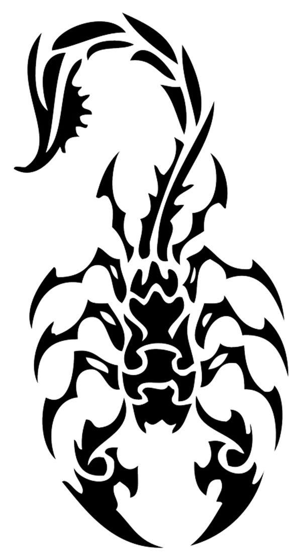 Pin by montzalee wittmann on cool tattoos continues tatouage tatouage scorpion scorpion - Coloriage sympa ...