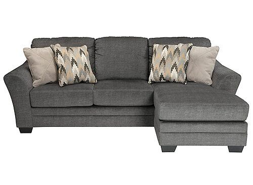 Ellison Sofa Chaise Chaise Sofa Couch With Chaise Charcoal Sofa