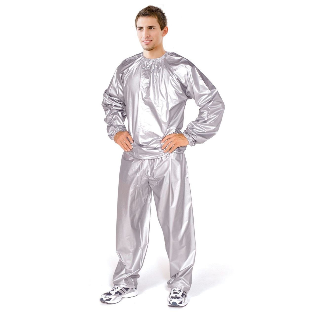 how to wear a sauna suit