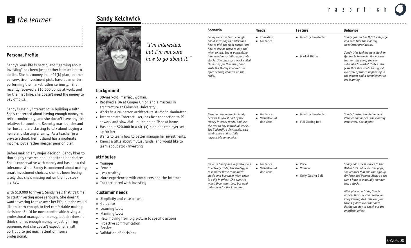 Persona Format - Fluid - Fluid Project Wiki | Best of