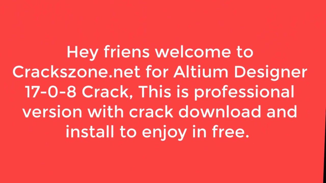 Altium Designer 17 Crack Full License Key | Cracked Version
