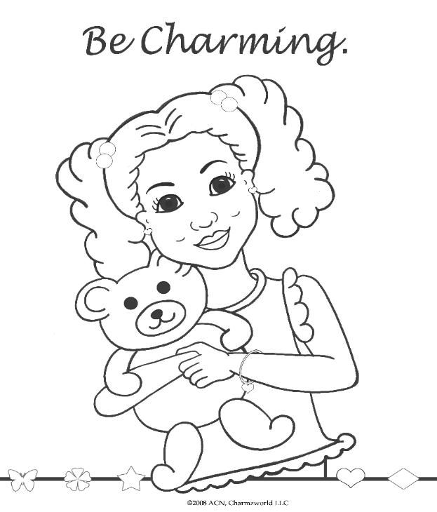 coloring pages for african american girls charmz girl maya