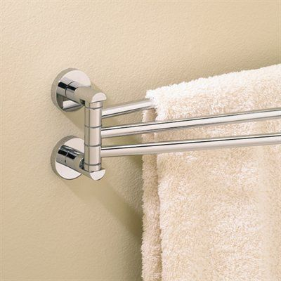 Valsan 67570 17.3 In Adjustable Rail Towel Bar A Wall Mounted Adjustable  Towel Rail From The Porto Collection. ,