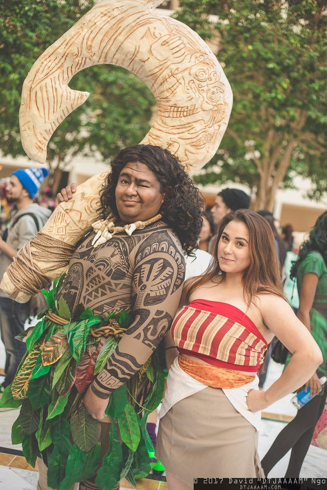 diy moana maui costume halloween costume idea
