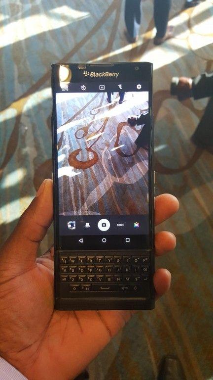 awesome Una unidad de la BlackBerry Priv aparece extraoficialmente: más delgado que el Note5