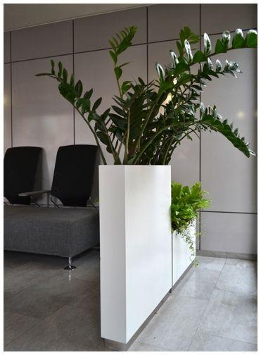 jardiniere haute et troite cloison blanc laqu e cr er une entr e pinterest. Black Bedroom Furniture Sets. Home Design Ideas