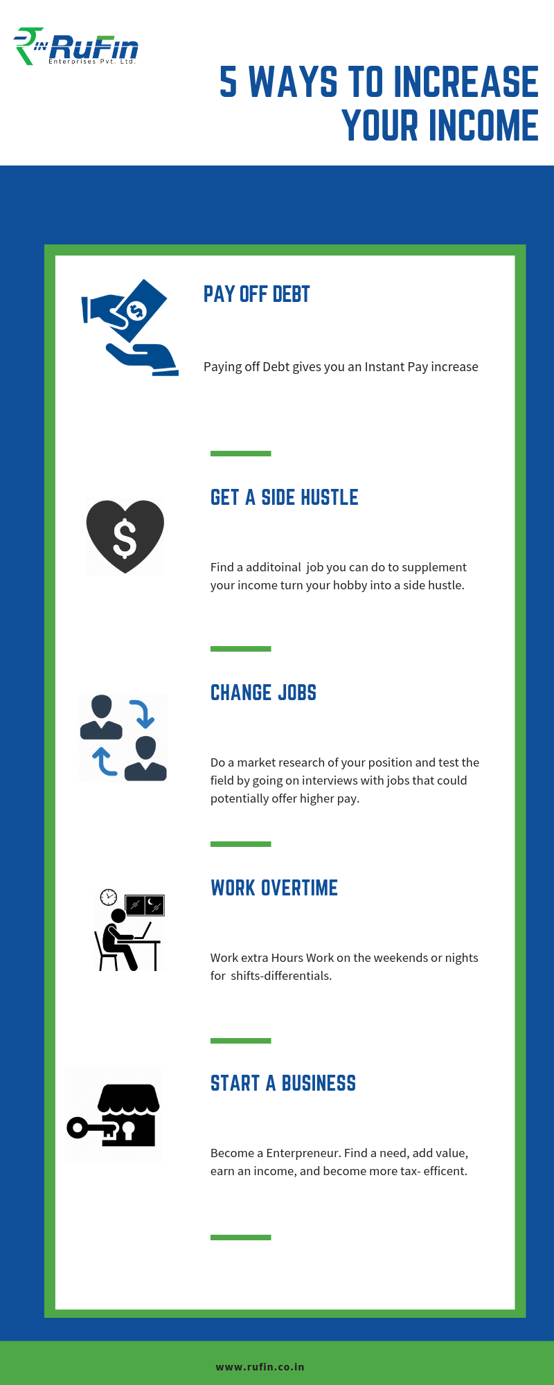 Financial Service In New Delhi 5 Ways To Increase Your Income Personal Loans Debt Payoff Credit Card Services Financial Services