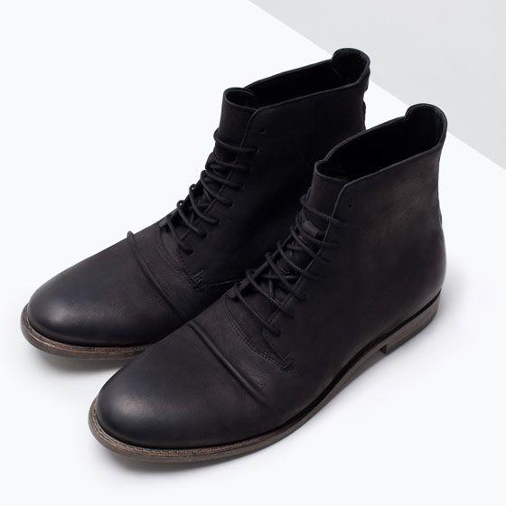 zara man botas hombre
