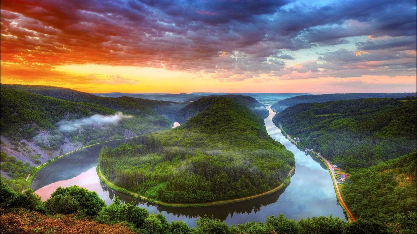 Wallpaper Pemandangan Alam Untuk Laptop Dengan Gambar