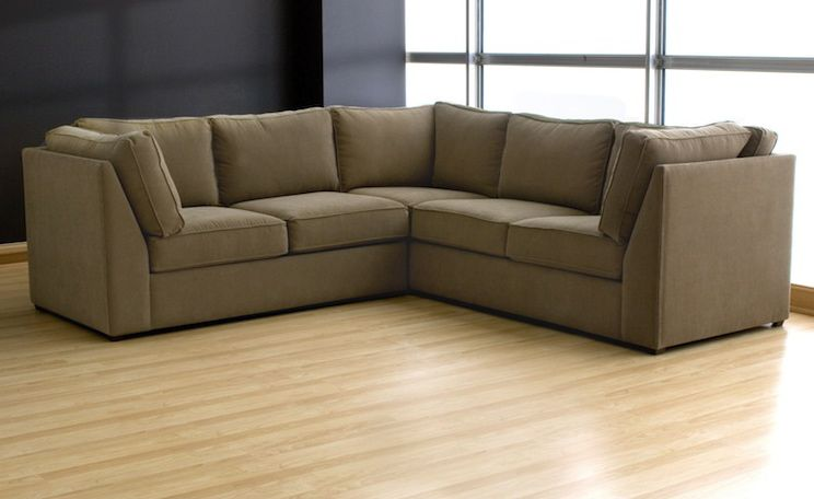 Slobproof Sectional Made In Usa Recycled And Green Materials