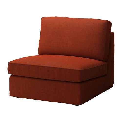 KIVIK 1-istuttava osa - Isunda oranssi - IKEA