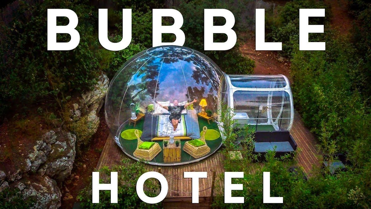 Sleep In A Private Bubble Attrap Reves In France Youtube Attrap Reves Voyage Insolite Idee Voyage