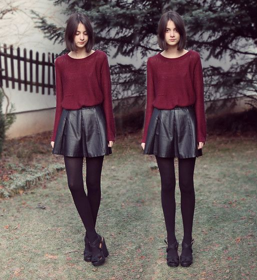 Burgundy (by Nory Aradi) http://lookbook.nu/look/4376083-burgundy
