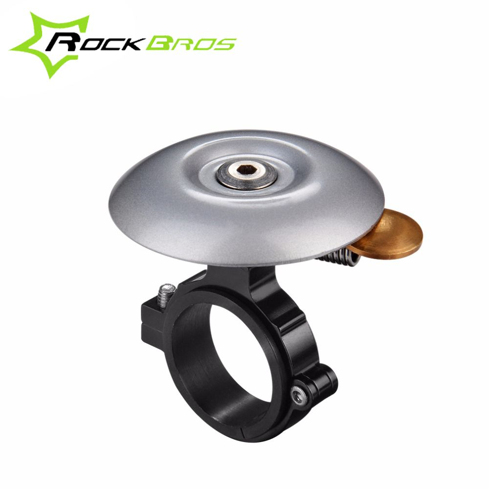 For Safety Cycling Bicycle Handlebar Metal Black Bike Bell Horn Sound Alarm A