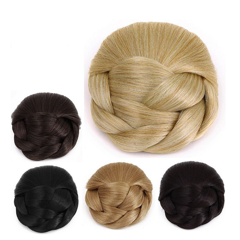 Cheap Synthetic Hair Accessories Black color