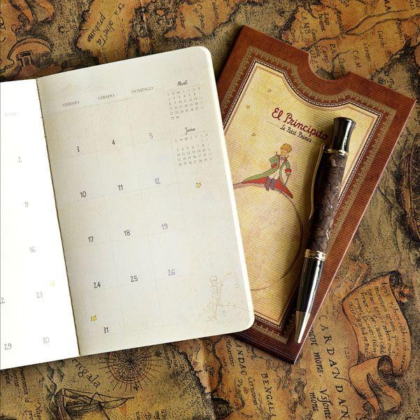 Calendario de Bolsillo El Principito | Premium Paper