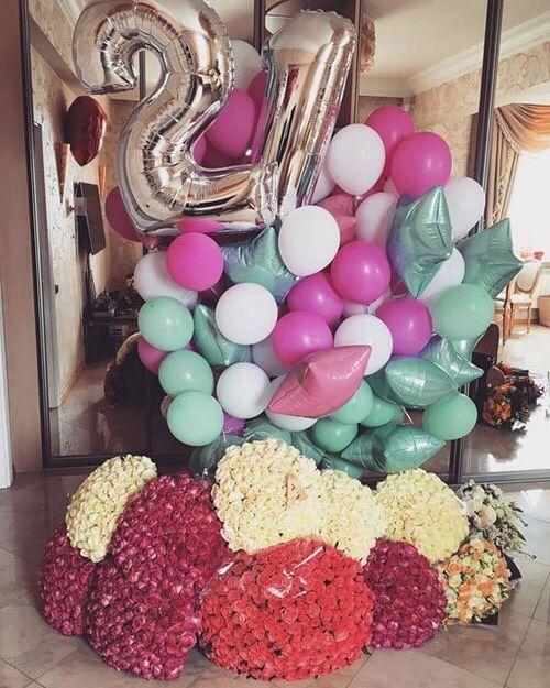 Imagen de flowers balloons and goals gifts pinterest - Ideas para cumpleanos 2 anos ...