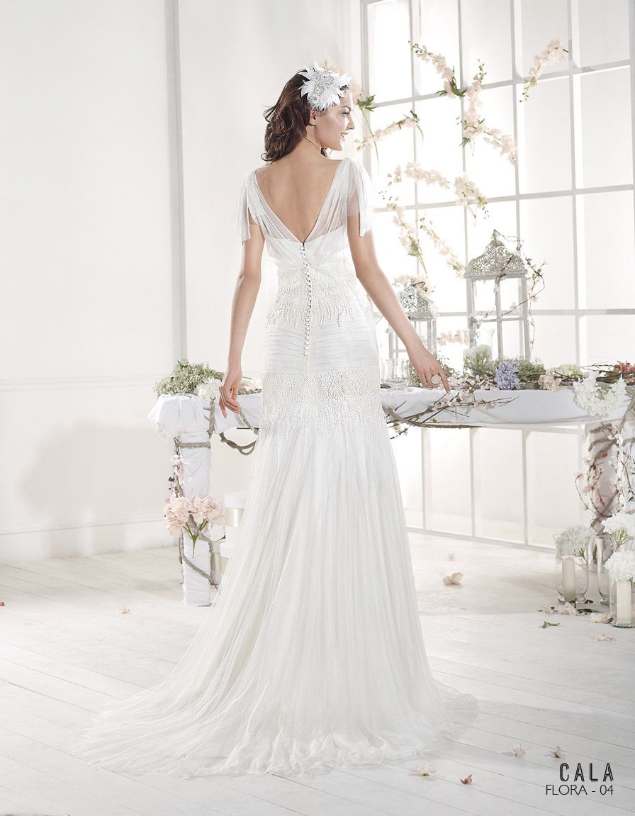 Vestido de novia ibicenco FLORA - Cala | VILLAIS | Dress | Pinterest ...