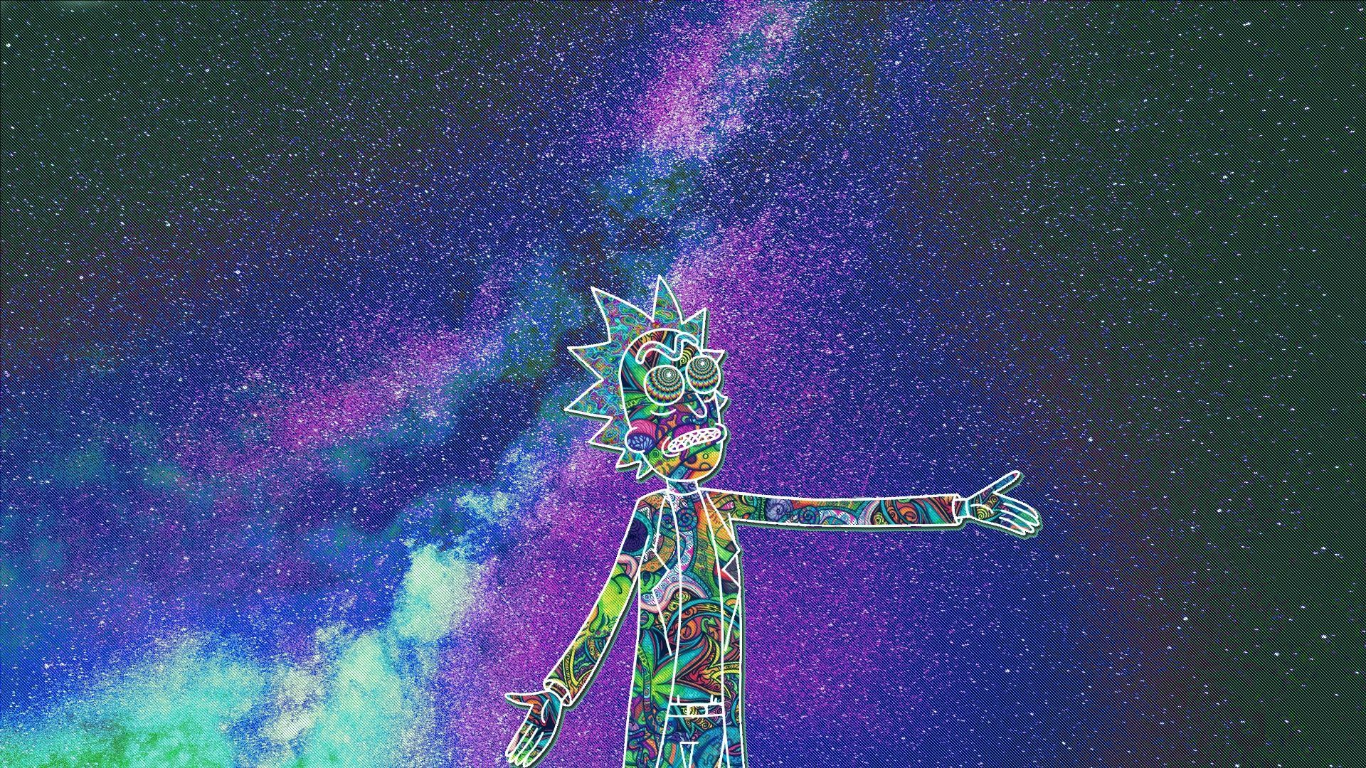 Rick And Morty Aesthetic Wallpaper